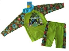 NWT Kids 2pcs Rashie Suit Swimwear Sz 3 4 5 6 7  UPF50+