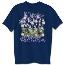 THREE STOOGES Takes a Lot of Balls T-Shirt **NEW the Larry Moe Curley 3