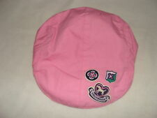 Gymboree SMART GIRLS RULE Pink Hat Cap NWT 3 4 Patch Fall Spring Summer Fashion