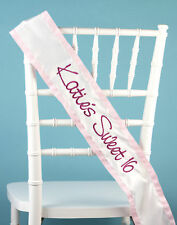 Bridal Baby Shower Birthday Personalized Custom Sash