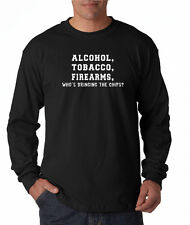 ATF Who's Bringing the Chips? Long Sleeve Tee Shirt