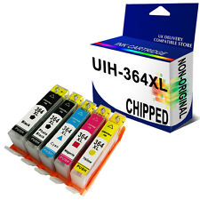 5 Ink Cartridges to Replace HP364XL for HP Printers