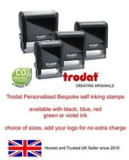 CUSTOMISED SELF INK RUBBER STAMP, business,school,accounts,name,address,post etc