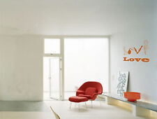 Love Spelled With Guns And Bombs Vinyl Wall Decal