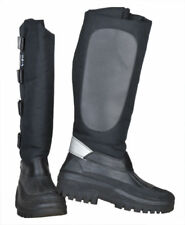 HKM Thermo Waterproof Mucker Muck Boot Black Lined Riding Boot - Kodiak