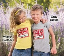 Brother/Sister for Sale Shirts 3 4 5 6 7 8 9 10 NWT