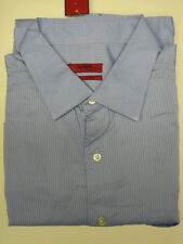 NEW ALFANI FITTED EASY CARE SOLID DRESS SHIRT 15.5/16.5/17.5