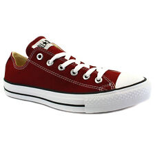 Converse All Star Chuck Taylor Ox Maroon Unisex Trainers Shoes