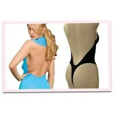 Thong Back Backless W/ Clear Straps Body Shaper SIZE 32B~40D Cup Fullness #9001