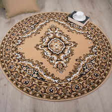 Beige Brown Persian Style Traditional Rug Small Large XXL Mats Living Room Rugs