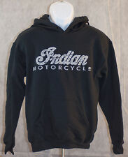 DISTRESSED Indian Motorcycle Hooded sweatshirt  FREE SHIPPING