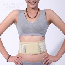 New Tourmaline Far Infrared Ray Heat Health Waist Belt Support Strap Pain Relief