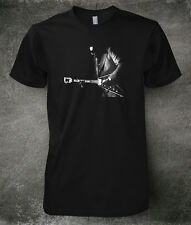 T-SHIRT Albert King Flying V blues gutiar BLACK