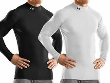 UNDER ARMOUR COLDGEAR COMPRESSION BASE LAYER TOPS LONG SLEEVE - FOR COLD WEATHER