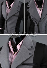 PJ Mens luxury fantastic design slim fit blazer jacket Casual suits 2Colors XS~L