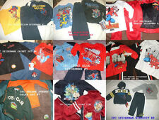 *NEW BOYS 3PC SPIDERMAN MARVEL TOY STORY Winter Outfit Set 12 18 2T 3T 4T
