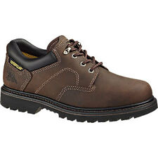 Caterpillar Ridgemont Steel Toe - Men's Work Boot - Dark Brown