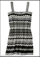 NEW! Missoni for Target Strappy Knit Sweater Dress - Black/White Chevron HOT!