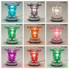 Glass Electric Sun Scent Oil Tart Fragrance Touch Lamp Diffuser Warmer Burner
