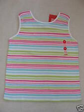 Gymboree PALM SPRINGS Multi Pink Green Blue Striped Bow Tank Top Shirt NWT