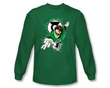 Officially Licensed Green Lantern Ring First Long Sleeve Shirt