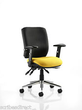 CHIRO 24hr Ergonomic Chiropractor Approved Office Chair 29 Seat Colour Choice!
