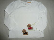 Gymboree PUPS & KISSES Ivory Yorkie Dog Friends Top Tee Shirt NWT 12-18