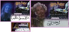 Nearly-Headless Nick Sorting Hat Lily James Auto Autograph PS SS Harry Potter