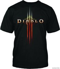 Diablo III 3 Logo Jinx Blizzard Officially Licensed Gamer Adult Shirt S-4XL