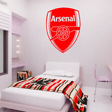 Arsenal Badge - Wall Decal Art Sticker football sport bedroom nursery playroom