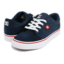 DC MENS 'ANVIL' SKATE SHOES 303190 DC NAVY / ATHLETIC RED (NYR) £54.99
