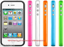 BUMPER CUSTODIA COVER X APPLE IPHONE 4 E 4S TASTI CROMATI PRODOTTO TOP ORIGINAL