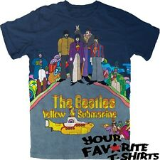 The Beatles Yellow Submarine Officially Licensed Adult Shirt S-2XL