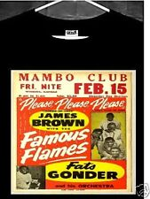 James Brown T Shirt; James Brown and The Famous Flames