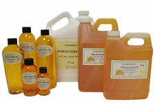 ORGANIC WHEAT GERM OIL PURE COLD PRESSED 2 OZ 4 OZ 8 OZ 12 OZ-UP TO 1 GALLON