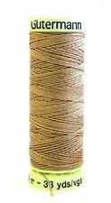Gutermann Top Stitch Thread Extra Strong Thick Upholstry Jeans Denim Button Sew