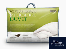 Soft As Down Hotel Quality Superking Bed Microfibre Duvet Quilt + 2 Pillows