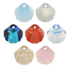 SWAROVSKI ELEMENTS 6723 Shell Pendant Many Colors & Sizes