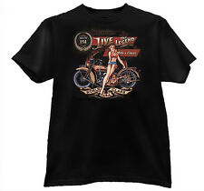 Biker  Printed T-Shirt - Greystone Big Sizes only #  15194