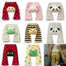 FREE SHIP 1x Fashion Baby Kid Cute Toddler Animal Leggings Tight Pants 9 Styles