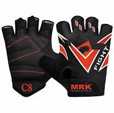 BOOM Pro Gym Gloves Pure Leather,Weight Lifting,Cycling,Fitness and excercise Gl