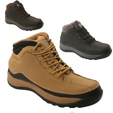 **MEN SAFETY BOOTS STEEL TOE CAP ANKLE TRAINERS HIKING SHOES SIZE 6-12UK LADIES
