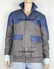 MARTY MCFLY Denim JACKET Back To The Future 1985 Halloween Costume