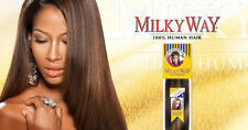 """SHAKE-N-GO Milky Way Yaky Weave 100% Human Hair Extension 10"""""""