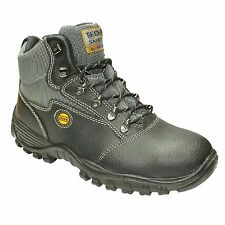 MENS COFRA ANKLE LEATHER SAFETY HIKING WORK BOOTS SHOES TRAINERS STEEL TOE CAPS