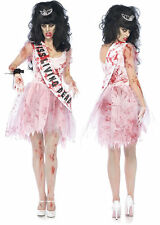 WOW ZOMBIE PUTRID HIGH SCHOOL PROM QUEEN HALLOWEEN COSTUME DAY OF THE DEAD GLEE