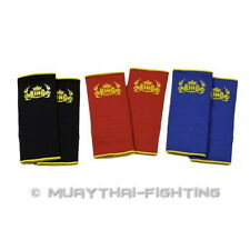 New Top King Muay Thai Boxing K1 Ankle Guard Protection Protector TKANG-01 Plain