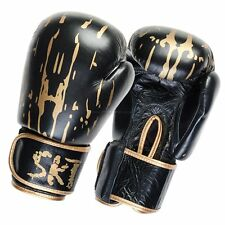 SKT Cow Leather Boxing Gloves Fight,Punch Bag MMA Grappling Pads