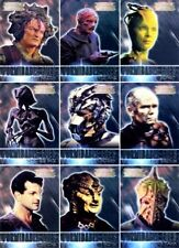 Complete Star Trek Voyager 9 FORMIDABLE FOES Singles F1-F9