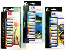 OIL/ACRYLIC/WATER COLOUR PAINTS COLOUR PAINTS SET 6mlTUBE DRAWING/SKETCHING NEW
